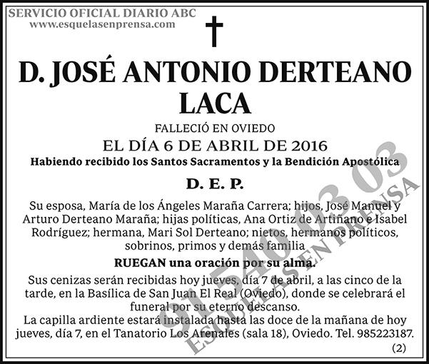 José Antonio Derteano Laca